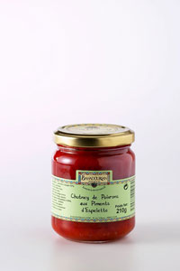 grossiste Chutney de Poivron au Piment d'Espelette