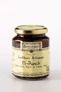 grossiste Marmelade de Citron Vert et Rhum Ti-Punch