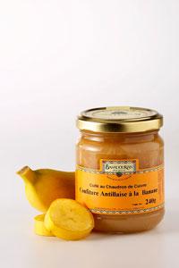 grossiste Confiture de Banane «Antillaise»