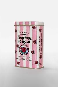 grossiste Boite à Epice Boutons de Rose