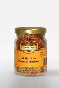 grossiste Sel Marin au Piment d'Espelette