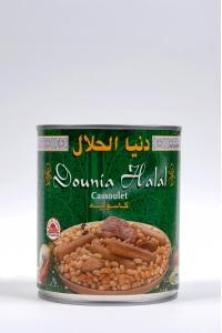 grossiste Cassoulet de Boeuf Dinde et Mouton Produit Halal