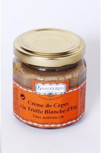 grossiste Crème de Cèpes à la Truffe Blanche d'Eté