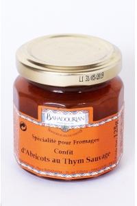 grossiste Confit d'Abricots au Thym Sauvage