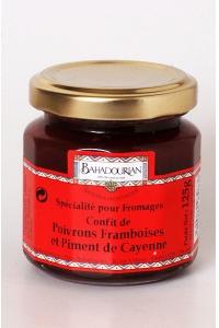 grossiste Confit de Poivrons Framboises et Piment de Cayenne