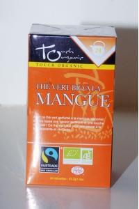 grossiste Thé Vert Bio à la Mangue