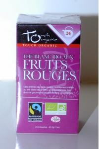 grossiste Thé Blanc Bio aux Fruits Rouges