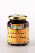 Confiture aux Quatre Fruits Rouges