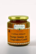 Confiture d'Orange Amère au Gingembre Confit