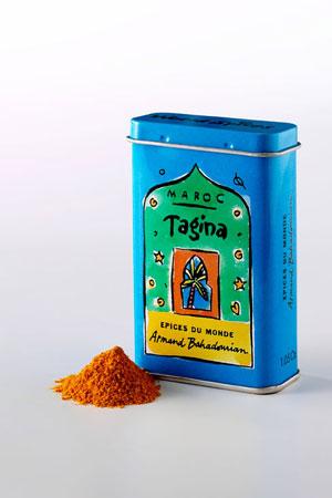 Boite à Epice Tajina (Mélange d'Epices pour Tajine)