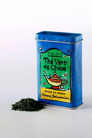 Boite à Epice Thé Vert de Chine