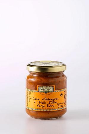 Caviar d'Aubergine à l'Huile d'Olive