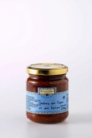 Chutney aux Figues et aux Épices Idéal pour le Foie Gras