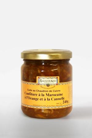 Marmelade d'Orange Cannelle à la Marocaine