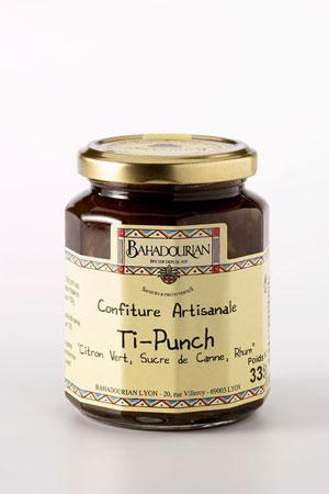 Marmelade de Citron Vert et Rhum Ti-Punch
