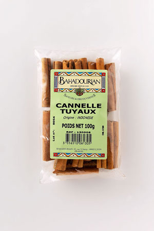 Cannelle Tuyaux Courts