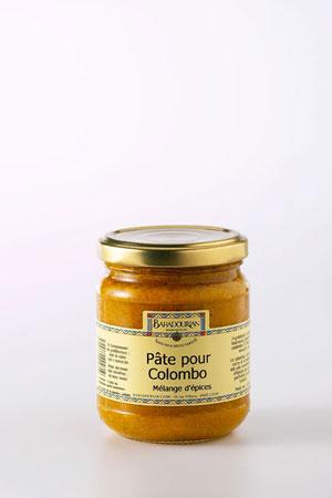 Pâte pour Colombo