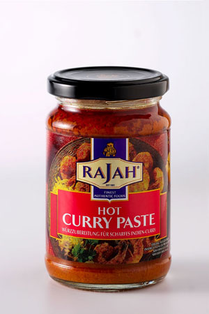 Pâte de Curry Fortement Epicée