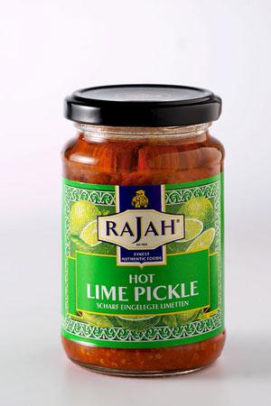 Pickle de Citron Vert Fortement Epicé