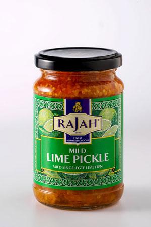 Pickle de Citron Vert Moyennement Epicé