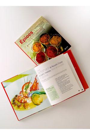 Livre de Cuisine «Épices et Aromates»