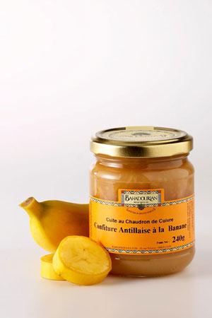 Confiture de Banane «Antillaise»