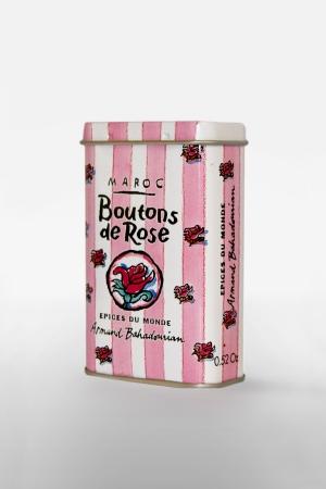Boite à Epice Boutons de Rose