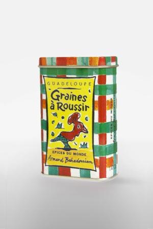 Boite à Epice Graines à Roussir