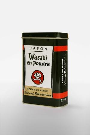 Boite à Epice Wasabi en Poudre