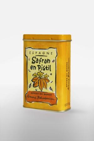 Boite à Epice Safran Filament