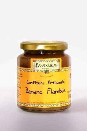 Confiture à La Banane Flambée