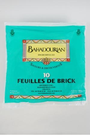 Feuilles de brick bahadourian feuilles de brick paquet 200g les p tes cuisiner - Cuisiner la feuille de brick ...