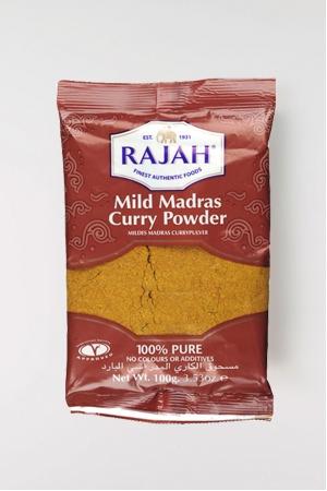 Curry de Madras Moyennement Epicé