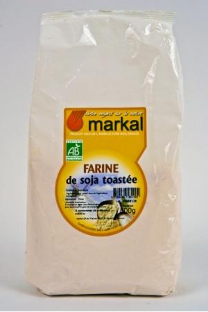 Farine de Soja Toastée Produit Bio AB