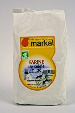 Farine de Seigle T130 Produit Bio AB