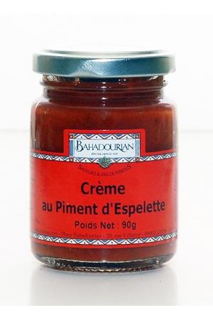 Crème au Piment d'Espelette AOP