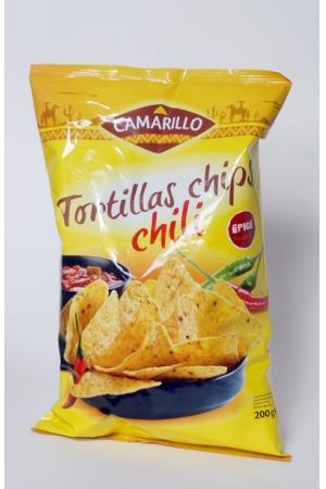 Tortillas Chips Goût Chili