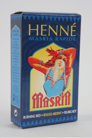 Henné Masria Couleur Rouge Ardent