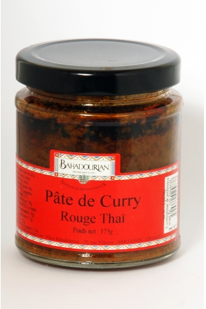 Pâte de Curry Rouge Thaï