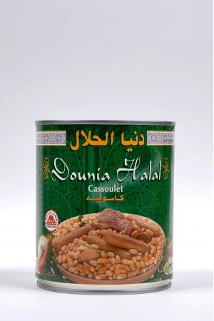Cassoulet de Boeuf Dinde et Mouton Produit Halal