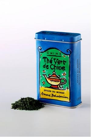 Boite à Epice Thé Vert de Chine Vide
