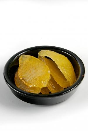 Ecorces de Citron Confites en Quartiers