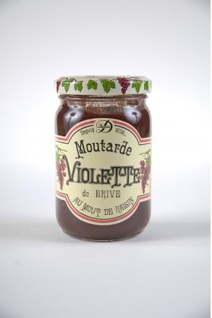 Moutarde Violette de Brive au Moût de Raisin