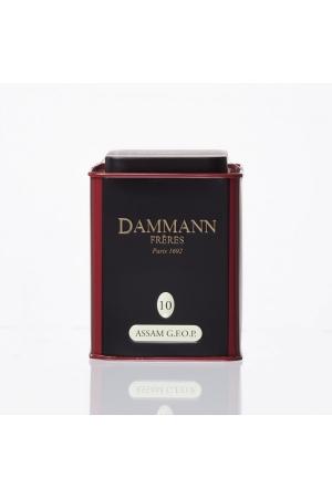 Thé Dammann Noir Assam G.F.O.P Golden Flavoured Orange Pekoe N°10