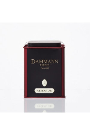 Thé Dammann Noir Ceylan O.P.N°7