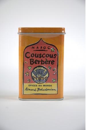 Boite à Epice Couscous Berbere