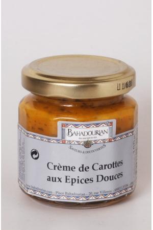 Crème de Carottes aux Épices Douces
