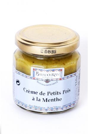Crème de Petits Pois à la Menthe