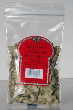 Algues Copeaux de Kombu Hana Kezuri