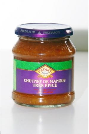 Chutney de Mangue très Épicé